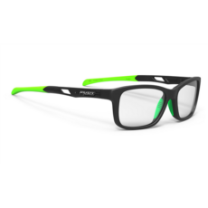 SZEMÜVEG INTUITION C BLACK-LIME/DEMO LENSES