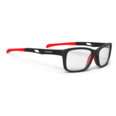 SZEMÜVEG INTUITION C BLACK-RED FLUO/DEMO LENSES