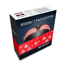 SZEMÜVEG RYDON 3PACK EDITION BLACK/3 LENCSE
