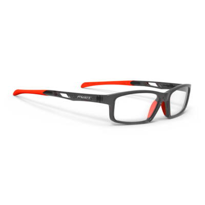 SZEMÜVEG INTUITION A CRYSTAL GRAPHITE-ORANGE FLUO
