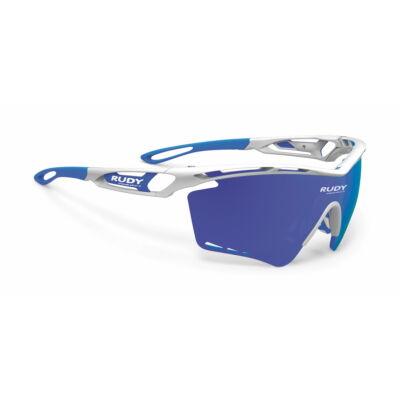 SZEMÜVEG TRALYX XL WHITE/MULTILASER BLUE