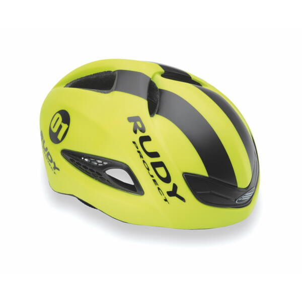 CASCA BOOST 01 YELLOW FLUO/BLACK MATTE S-M 54-58