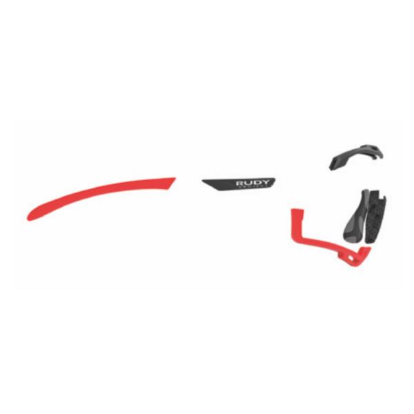 CUSTOM KIT CUTLINE RED FLUO/BLACK WHITE/BLACK-BLACK GREY-RED