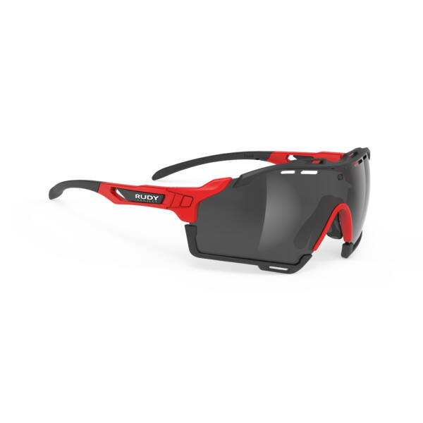 OCHELARI CUTLINE FIRE RED-BLACK BUMPERS/SMOKE BLACK