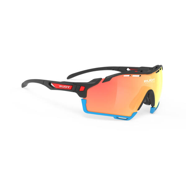 OCHELARI CUTLINE TEAM BAHRAIN BLACK-AZUR BUMPERS/MULTILASER ORANGE
