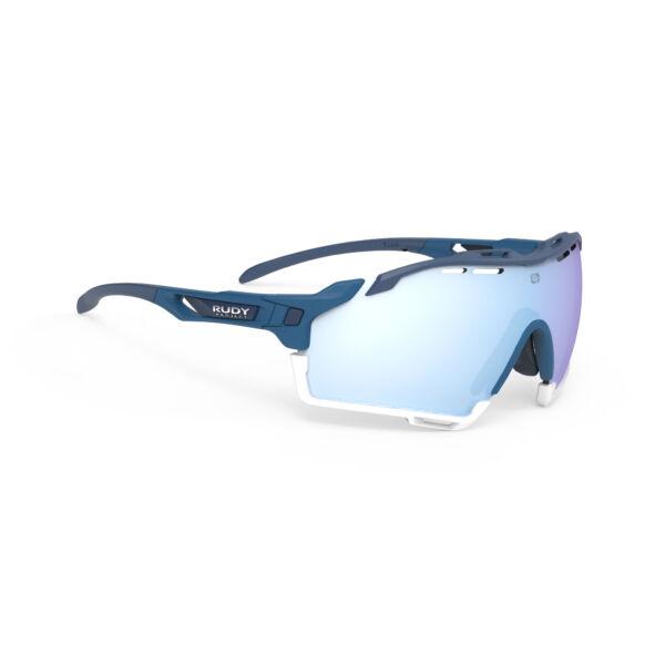 SZEMÜVEG CUTLINE PACIFIC BLUE-BLUE AVIO WHITE BUMPERS/MULTILASER ICE