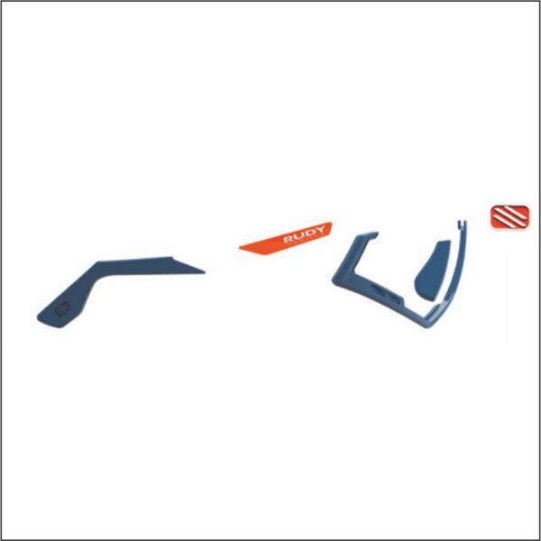 CUSTOM KIT DEFENDER BLUE/AVIO-RED FLUO/WHITE