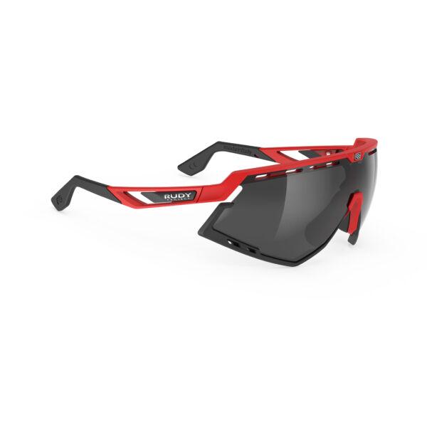 OCHELARI DEFENDER FIRE RED-BLACK BUMPERS/SMOKE