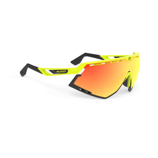 OCHELARI DEFENDER YELLOW FLUO-BLACK BUMPERS/MULTILASER ORANGE