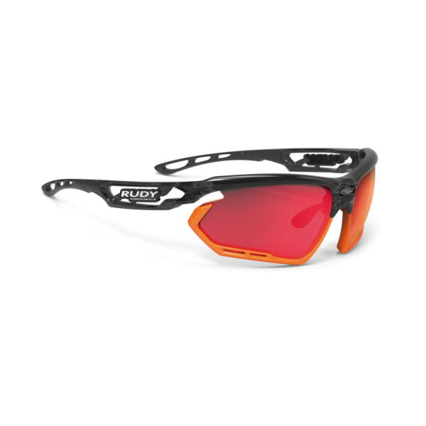 OCHELARI FOTONYK BLACK-RED FLUO BUMPERS / POLAR 3FX HDR MULTILASER RED