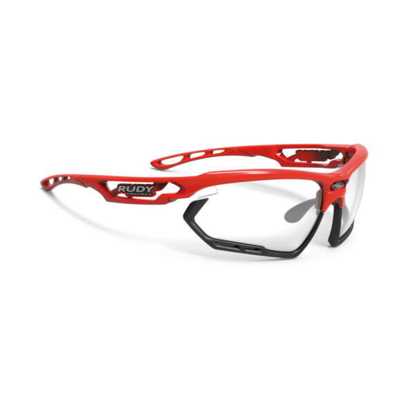 OCHELARI FOTONYK FIRE RED-BLACK BUMPERS/IMPACTX2 PHOTOCHROMIC BLACK