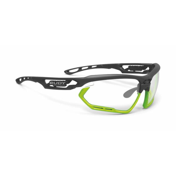SZEMÜVEG FOTONYK BLACK-LIME BUMPERS/IMPACTX2 PHOTOCHROMIC BLACK