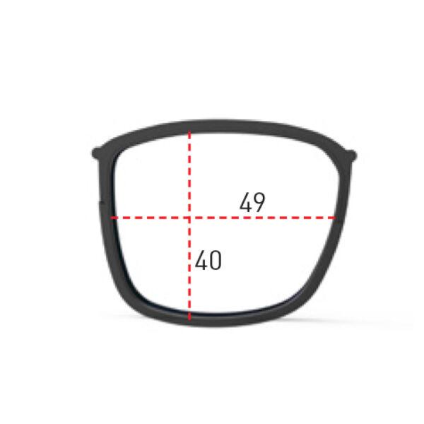 RX DIRECT CLIP INKAS FULL RIM BLACK (49/40 MM)