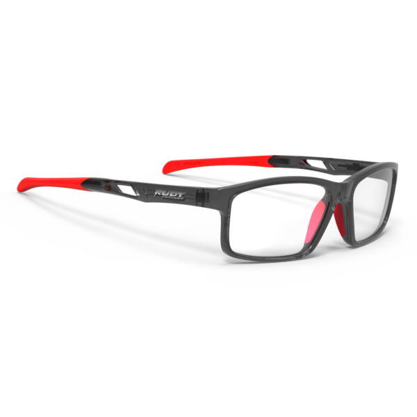 SZEMÜVEG INTUITION B CRYSTAL ASH-RED FLUO
