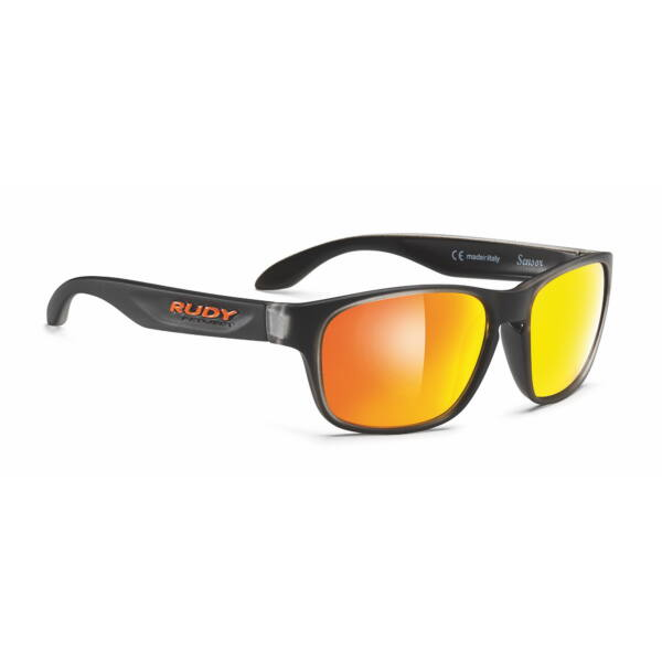 OCHELARI SENSOR ICE BLACK/MULTILASER ORANGE