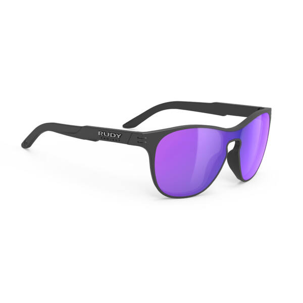 SZEMÜVEG SOUNDSHIELD BLACK/MULTILASER VIOLET