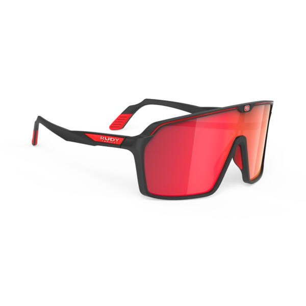 OCHELARI SPINSHIELD BLACK/MULTILASER RED