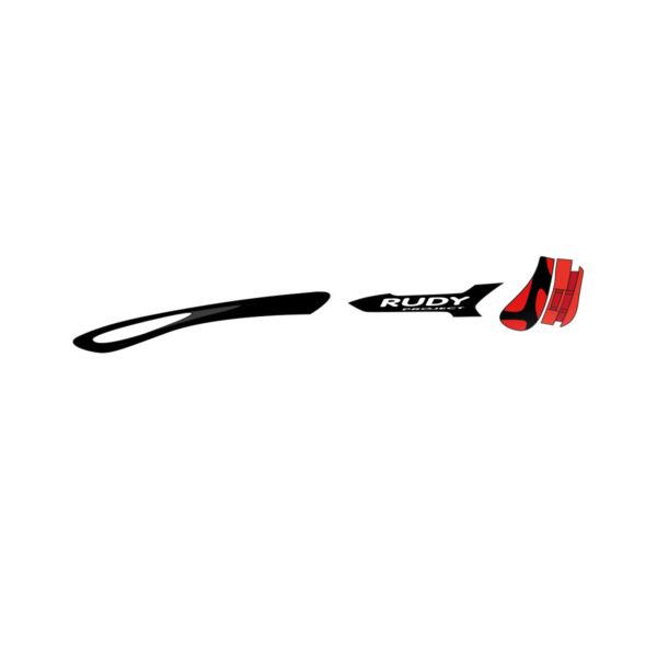 CUSTOM KIT TRALYX BLACK/BLACK/FIRE RED