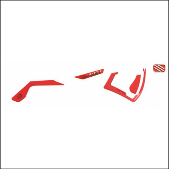 CUSTOM KIT DEFENDER RED FLUO/WHITE