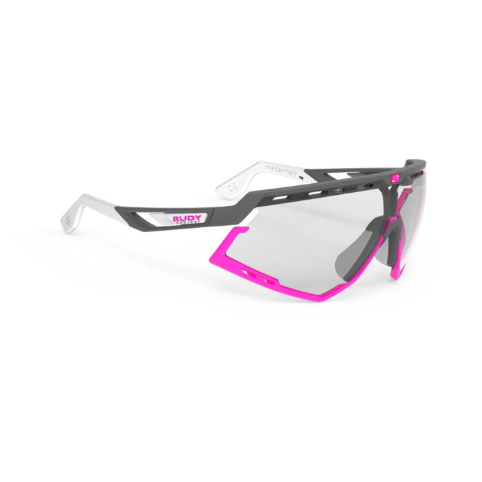 SZEMÜVEG DEFENDER PYOMBO-WHITE PINK FLUO BUMPERS/IMPACTX2 PHOTOCHROMIC BLACK