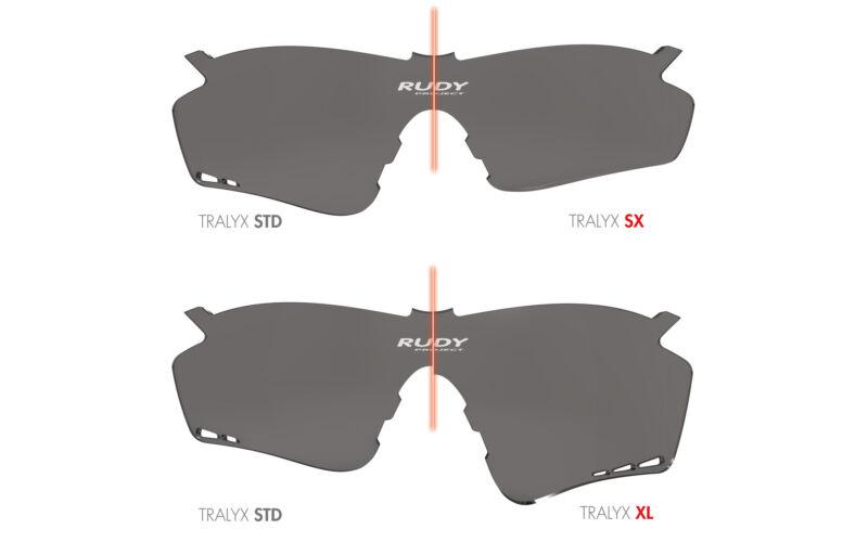 LENCSE TRALYX XL IMPACTX2 PHOTOCHROMIC BLACK - LENCSÉK - Rudy ... 6e3b60ab8d